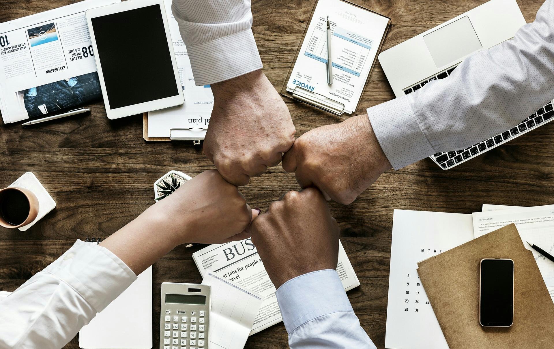 Arbeiten in Gruppen