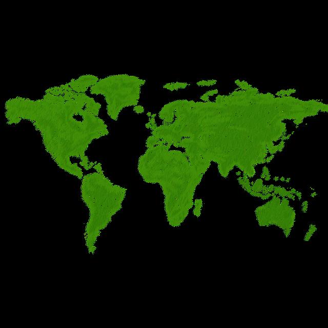 Internetkonzerne grüne Welt