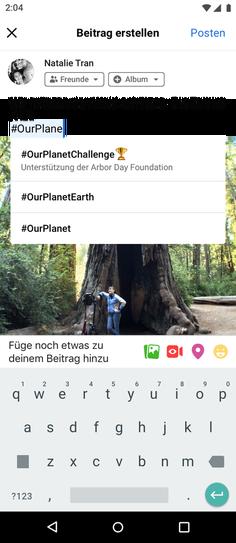 Facebook Challenges Erstellung