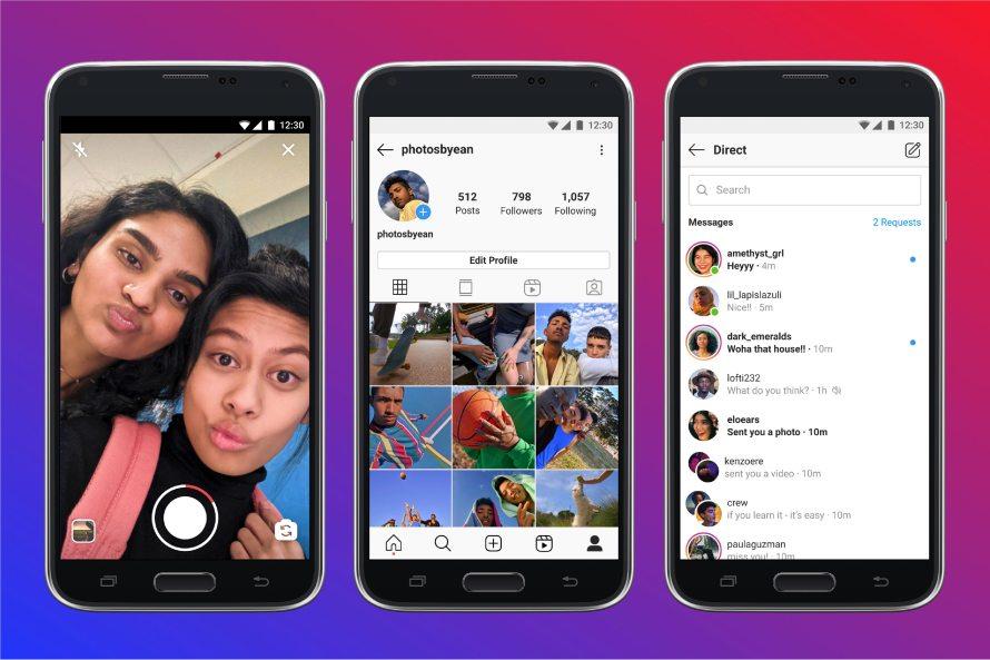 Instagram Lite - Video & Messaging